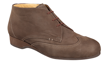 brown orthopaedic shoes