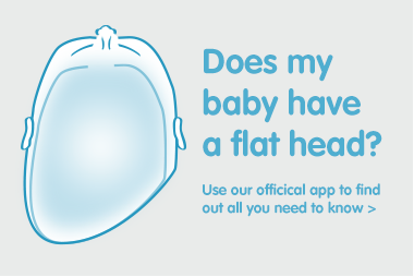does my baby have a flat head