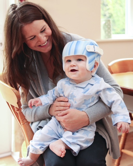Helmet for plagiocephaly