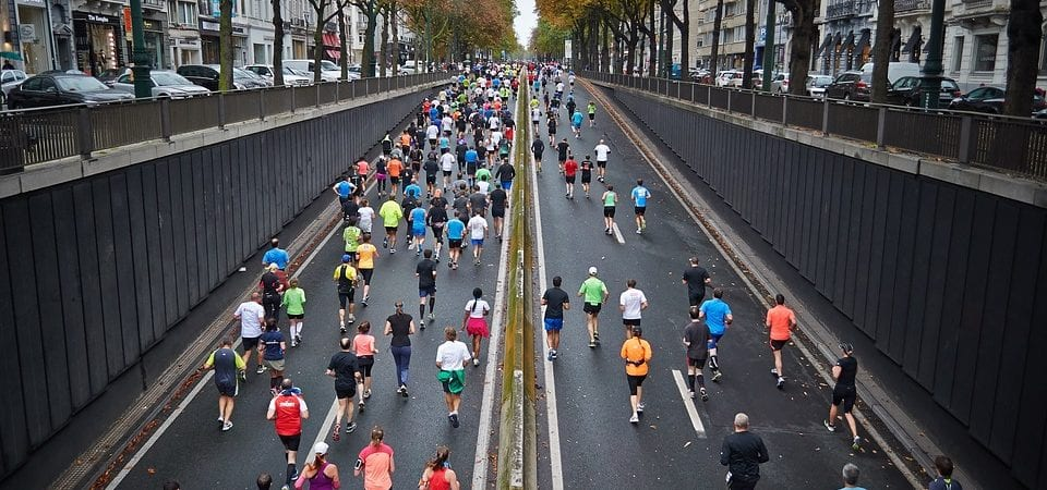 Training for a Marathon with a Knee Injury