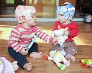 Babies During Helmet Treatment