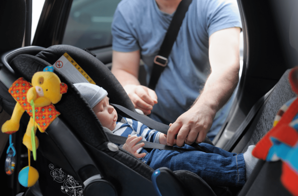 How Long Should a Baby be in a Car Seat
