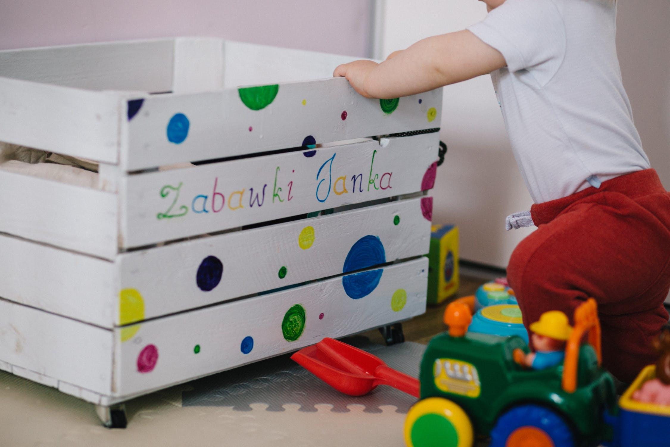 Baby brain development activities - play time
